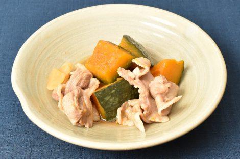 豚バラとかぼちゃの煮物