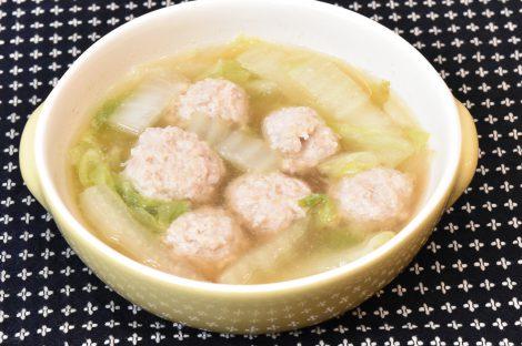 鶏肉団子のスープ