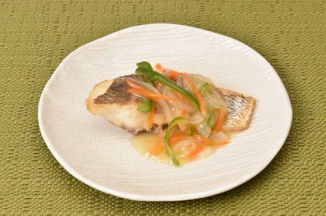 鯛の野菜あんかけ