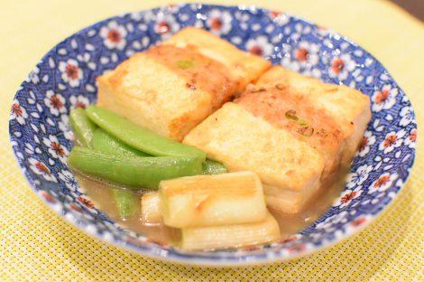 揚げ出し肉詰め豆腐